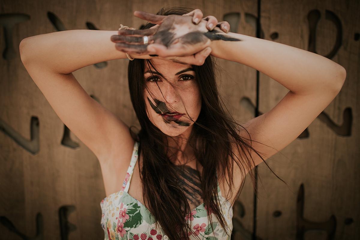 retrato Noemi Ruiz actriz