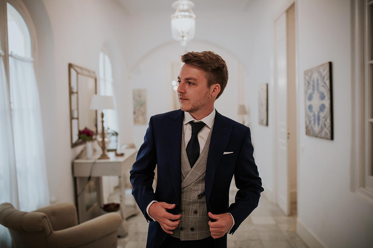 fotografía novio boda