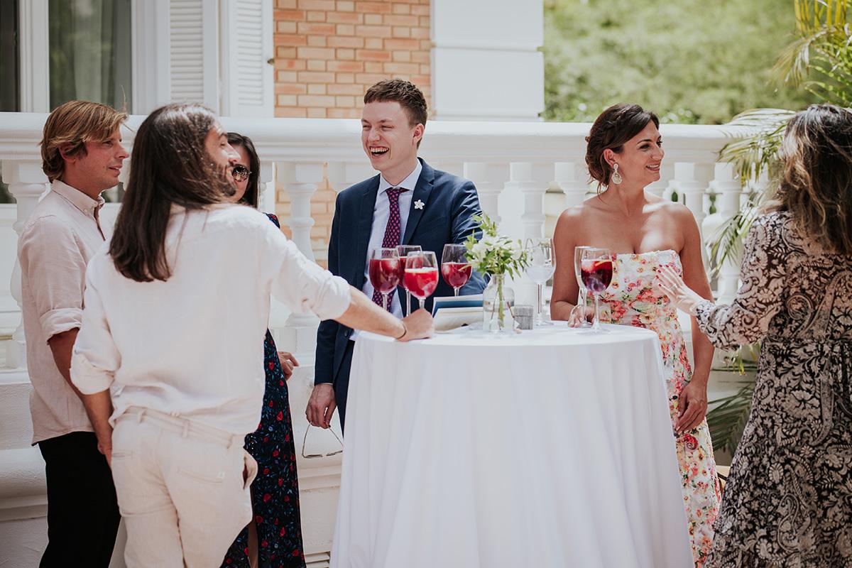 Invitados boda málaga