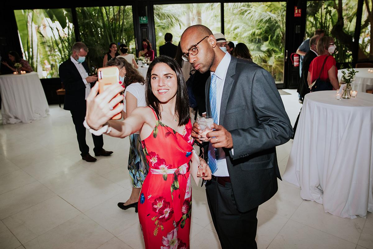 selfie invitados boda