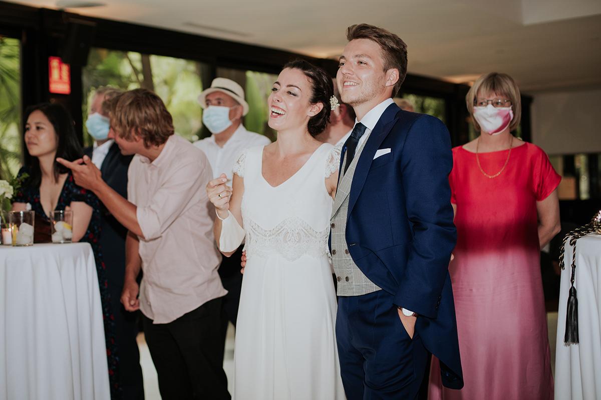novios fiesta boda