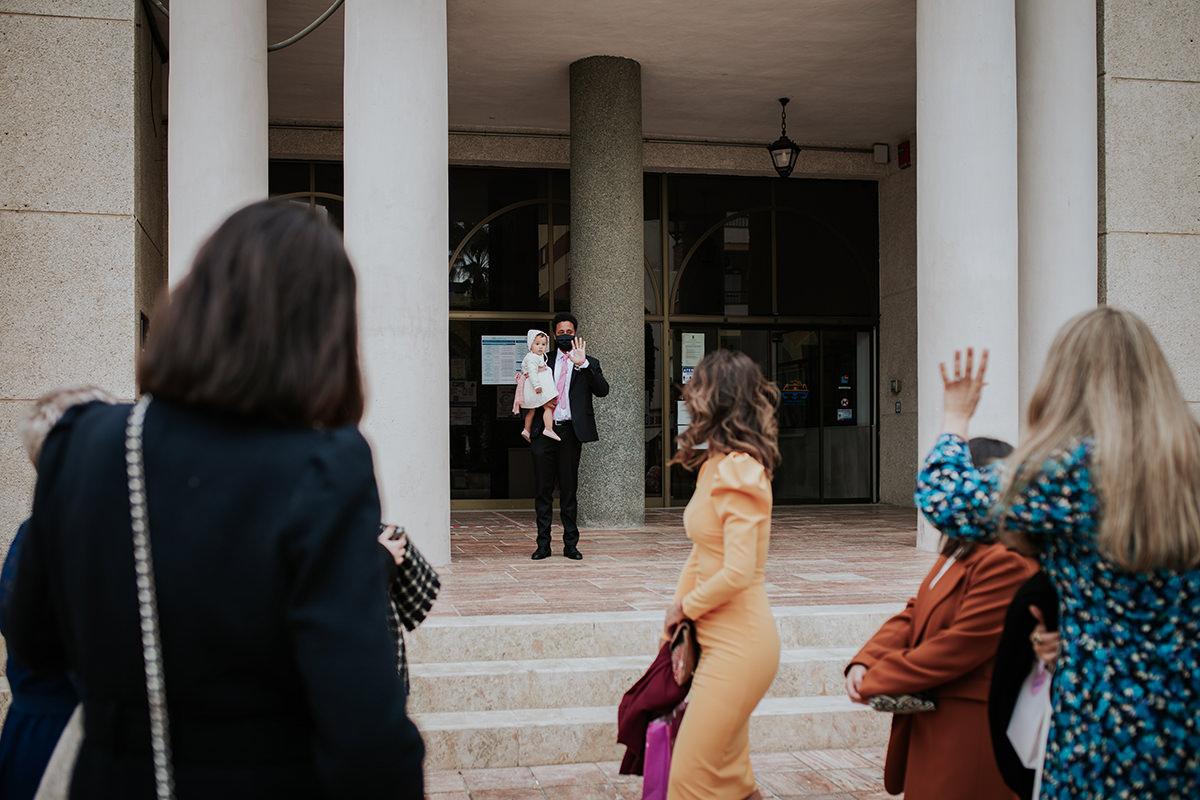 fotografía novio ceremonia