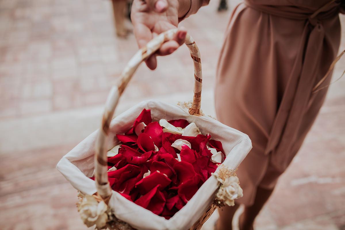 detalla flor boda