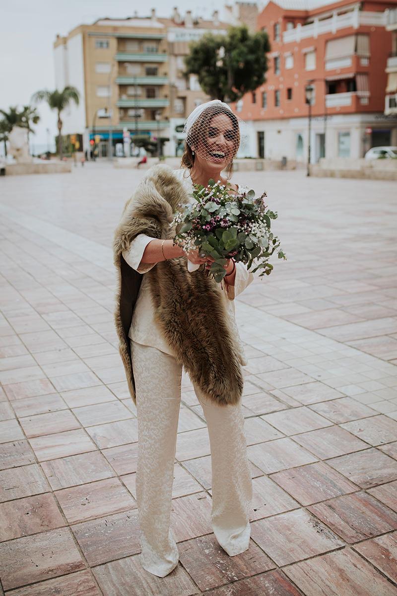 fotografía novia boda