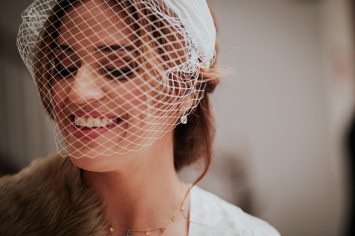 retrato novia boda