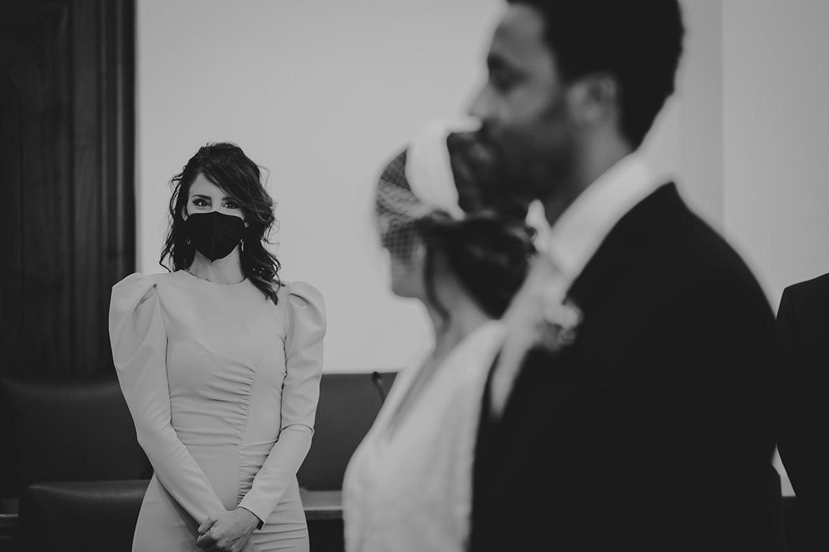 fotografía invitada boda