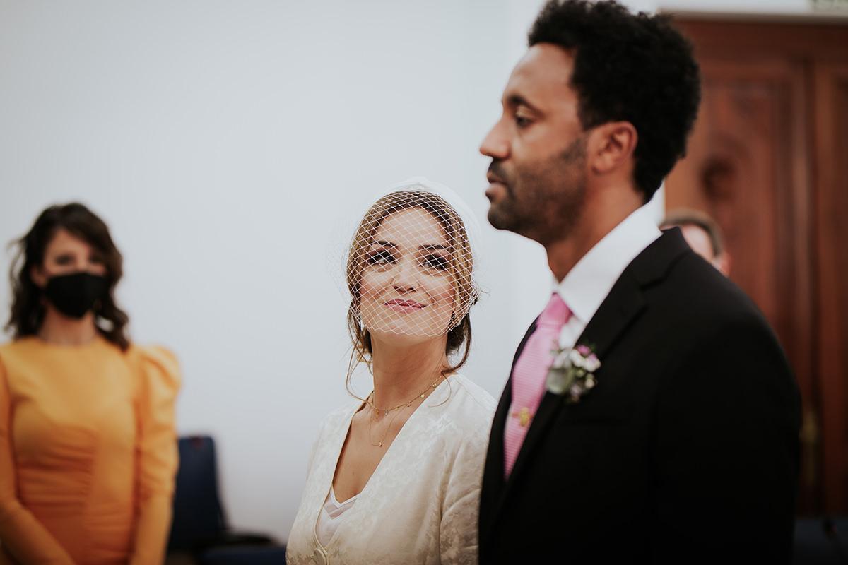 novia boda málaga mirada