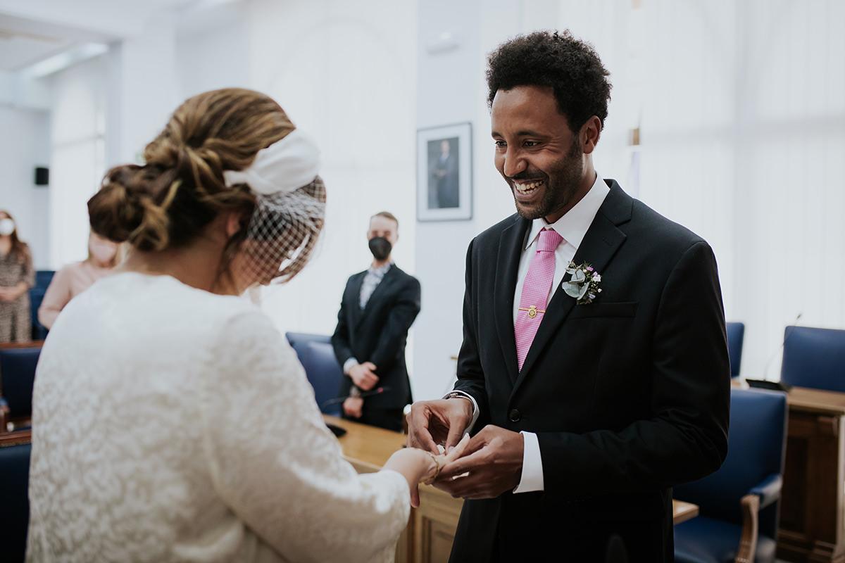 fotografía ceremonia boda