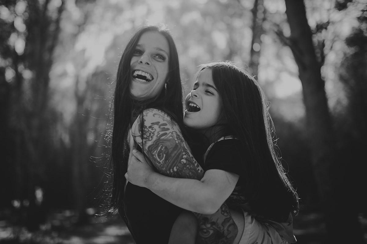 Fotografía familia tatuajes málaga