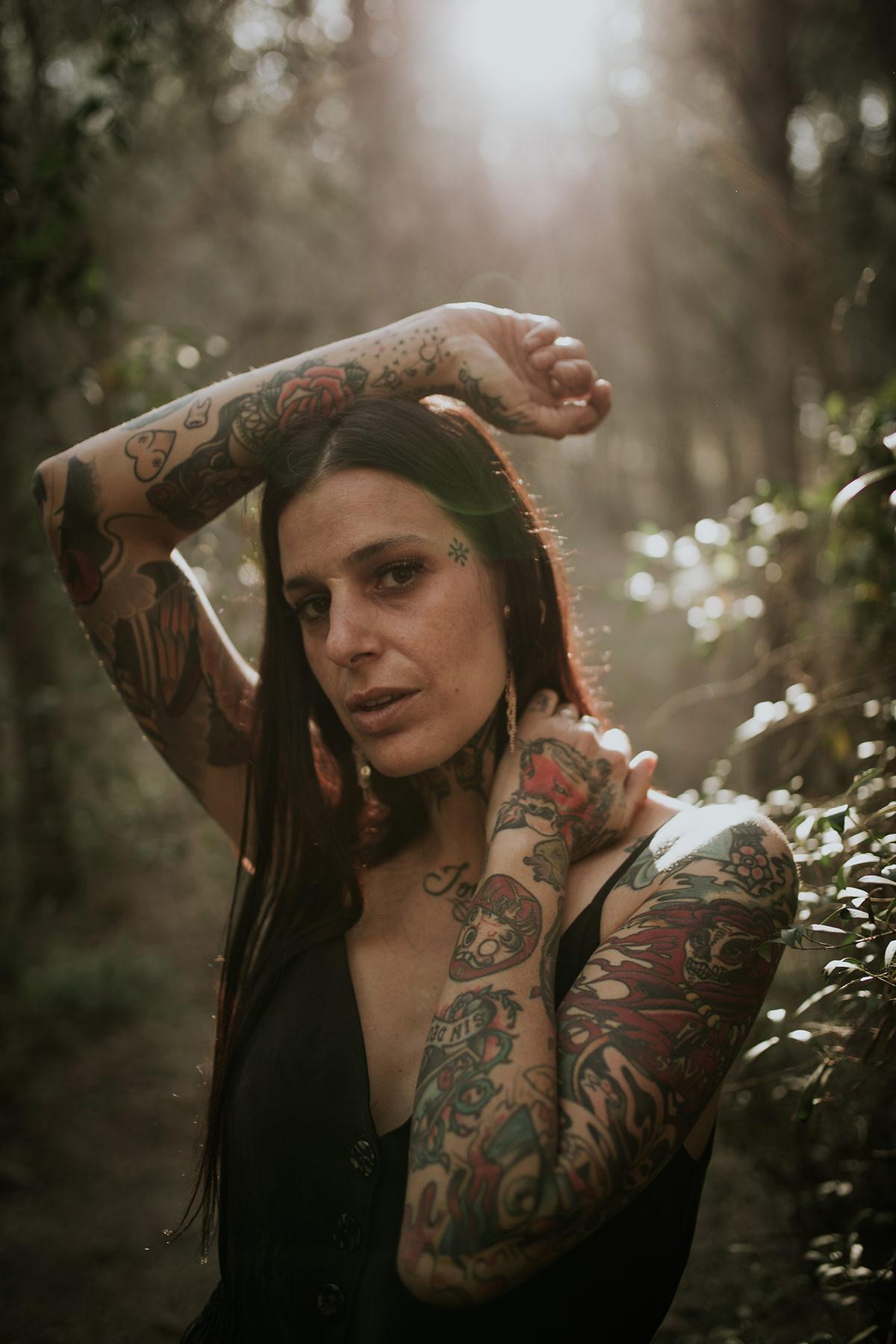retrato nena von flow