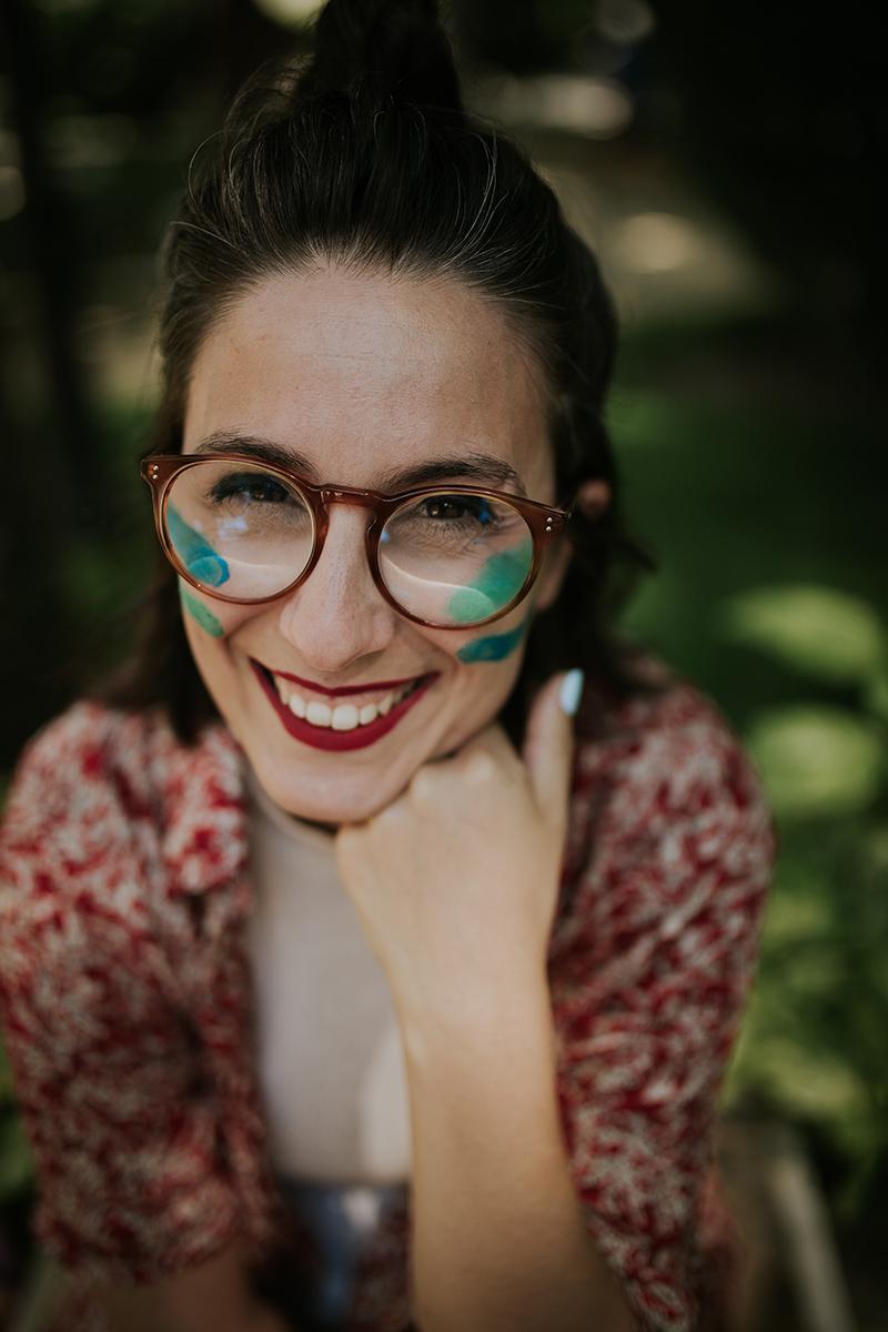 retrato Juanita Banana diseñadora