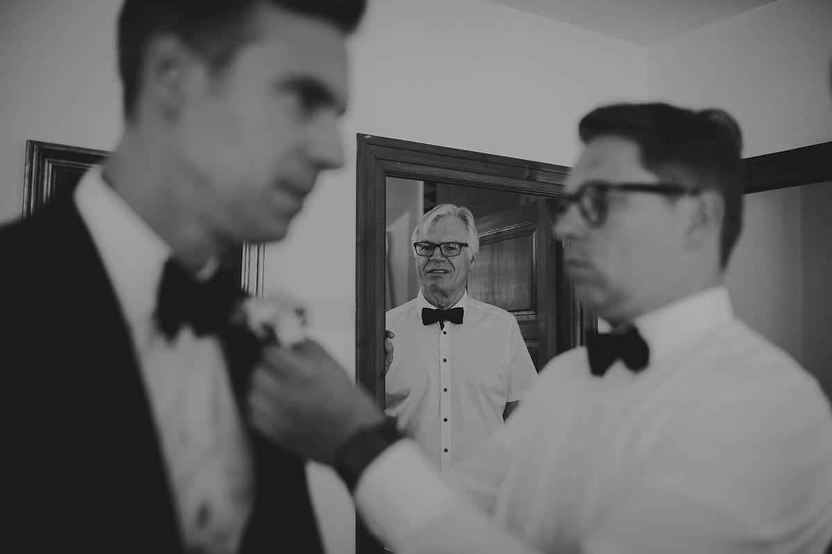 fotografía boda padrino