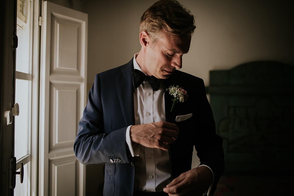 retrato novio boda