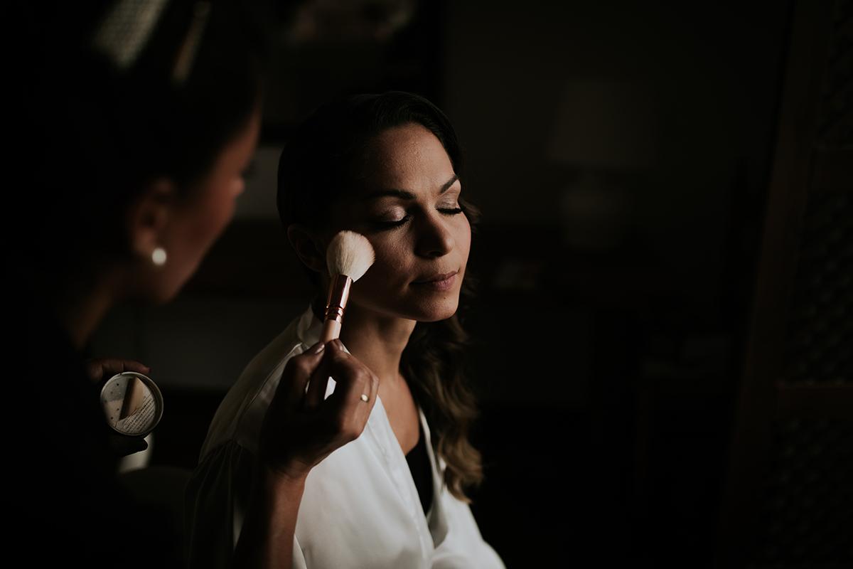 fotografía maquillaje novia marbella