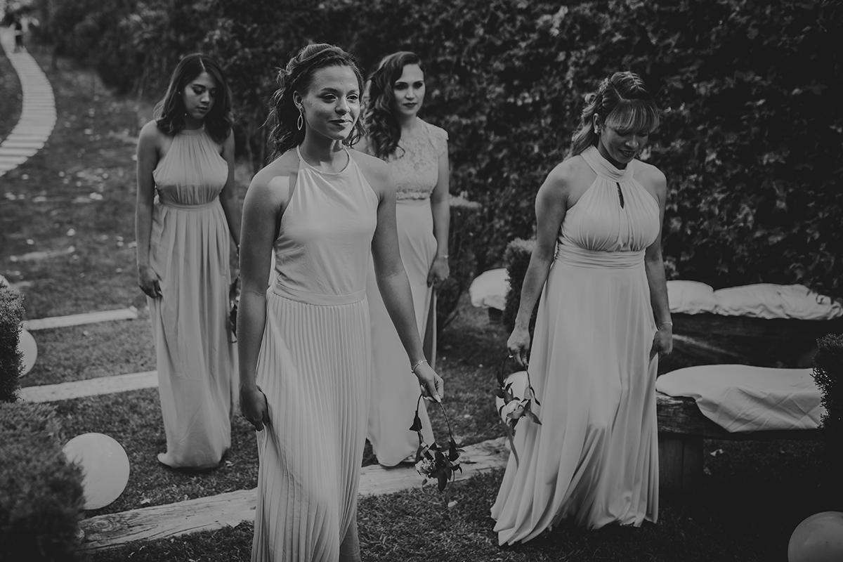 fotografía damas boda marbella