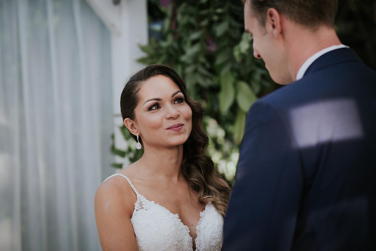 fotografía novia lágrimas boda