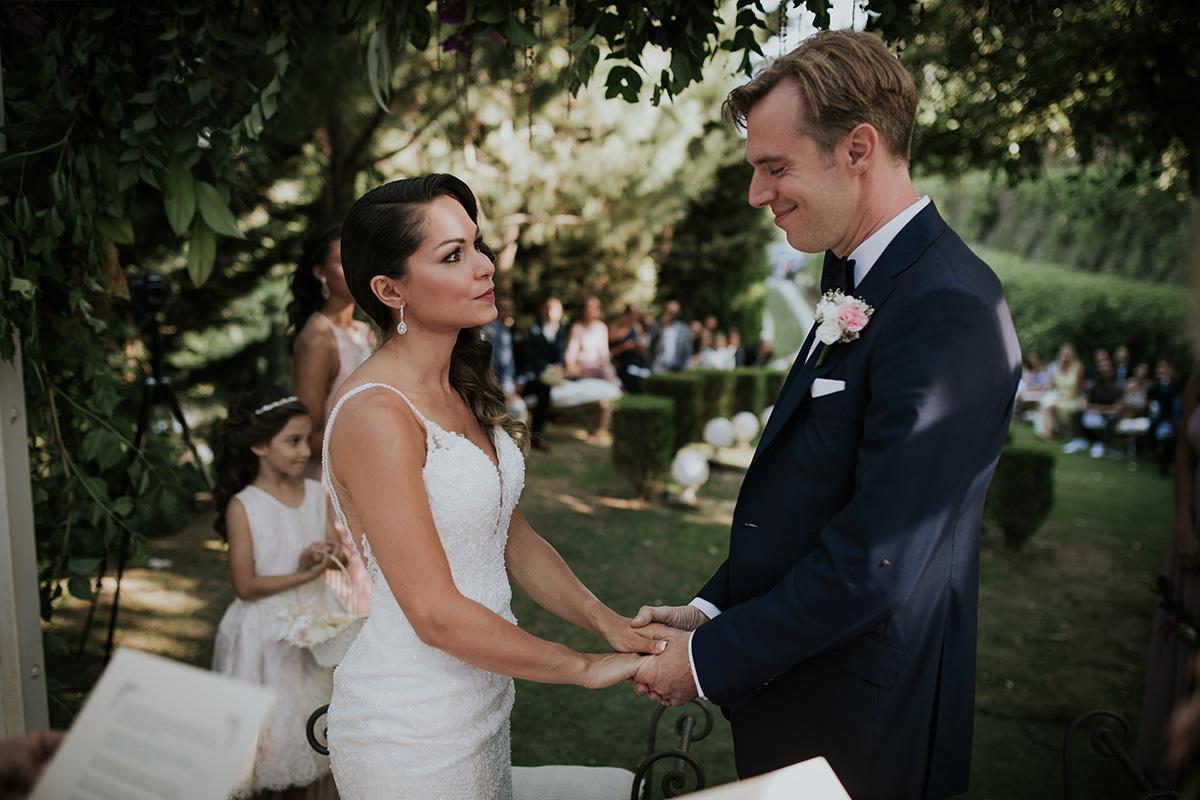 fotografía votos boda