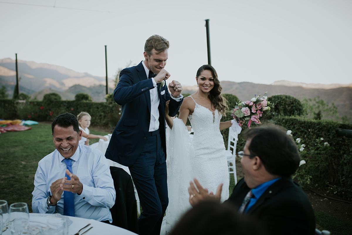 fotografía boda baile