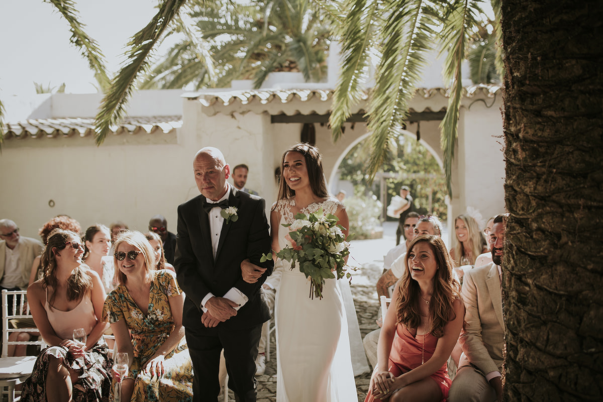 fotografía ceremonia civil boda