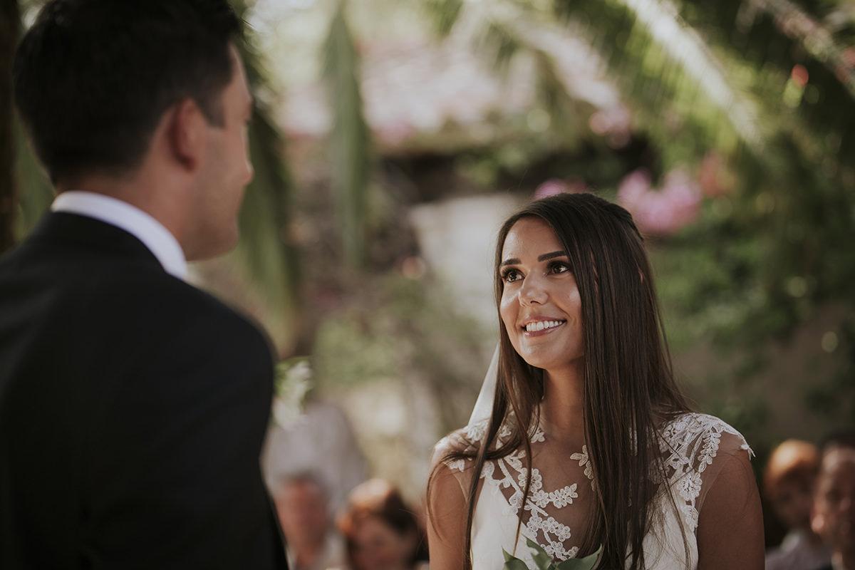 fotografía boda votos