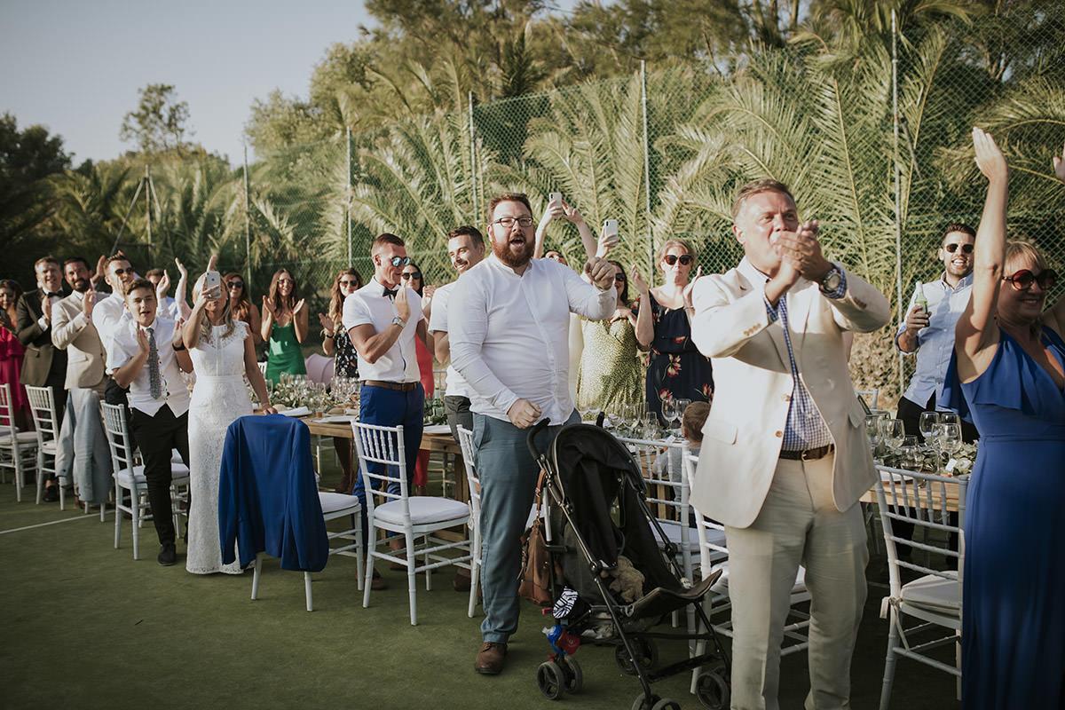 fotografía invitados boda