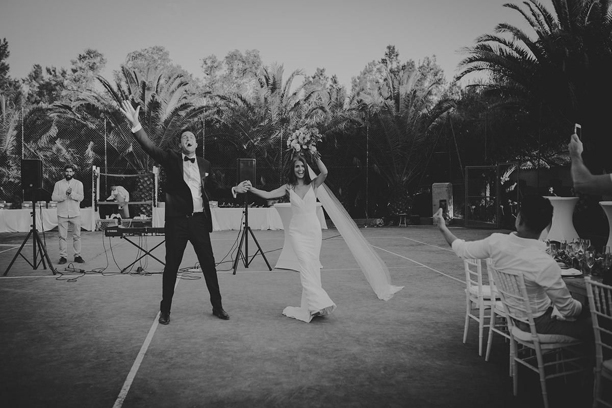 fotografía boda coctel