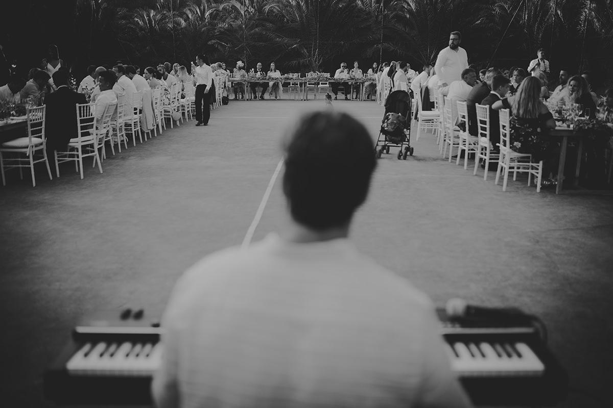 fotografía músico boda tarifa