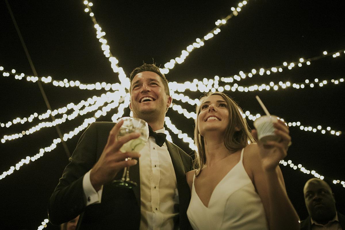 bebidas novios boda